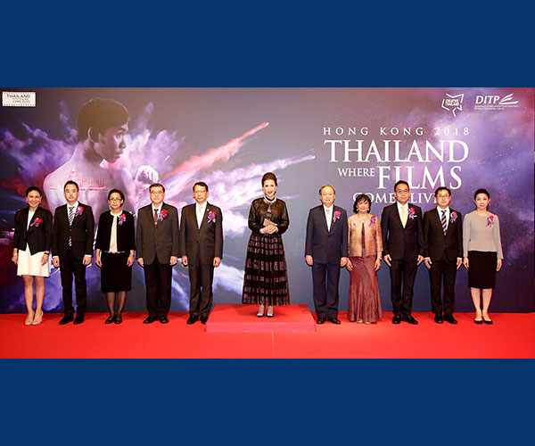 Thai Companies Join Thai Night Hong Kong 2018