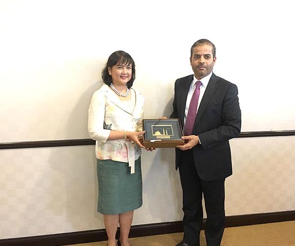 DITP Meets UAE Ambassador