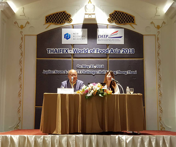 Korean Expert Gives Business Advice to Thai Food Businesses